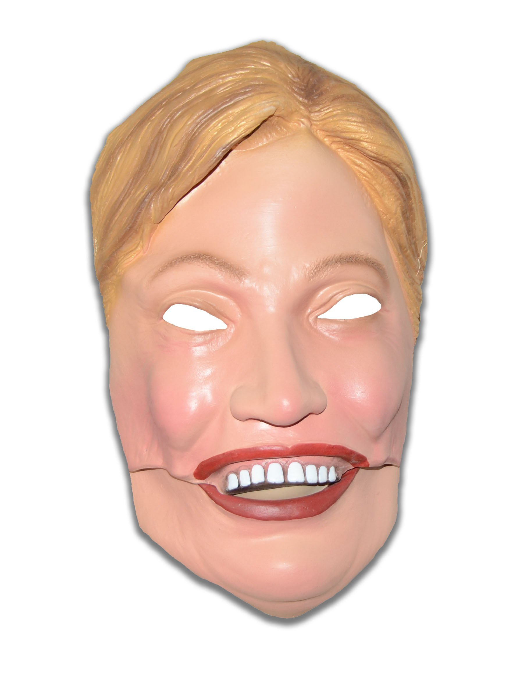 Squirrel Products Hillary Clinton Half Mask - Democratic Presidential Candidate Half Mask