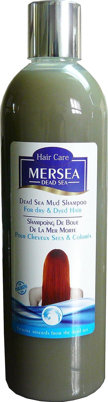 Mersea mar Muerto Champú barro para el cabello seco y dañado, Paquete 1er (1 x 400 ml) 2111