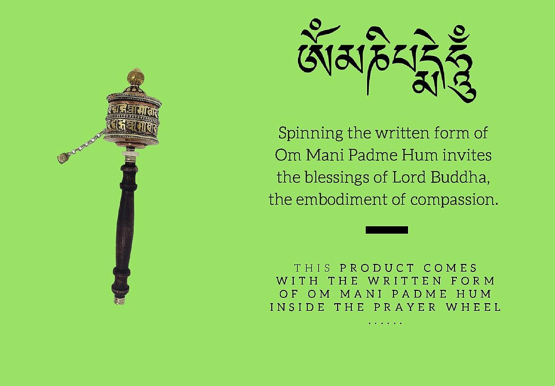 Amazon Tibetan Buddhist Symbols Om Mani Padme Hum Hand Crafted