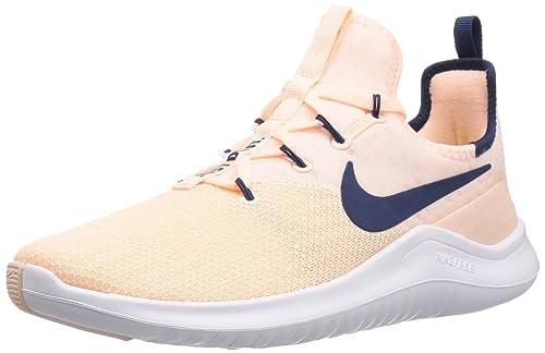 c4fdb7c2670e4 Nike Women s WMNS Free TR 8 Crimson Tint Navy-White Multisport Training  Shoes-