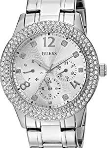 Guess Casual Watch For Women Analog Metal - W1097L1