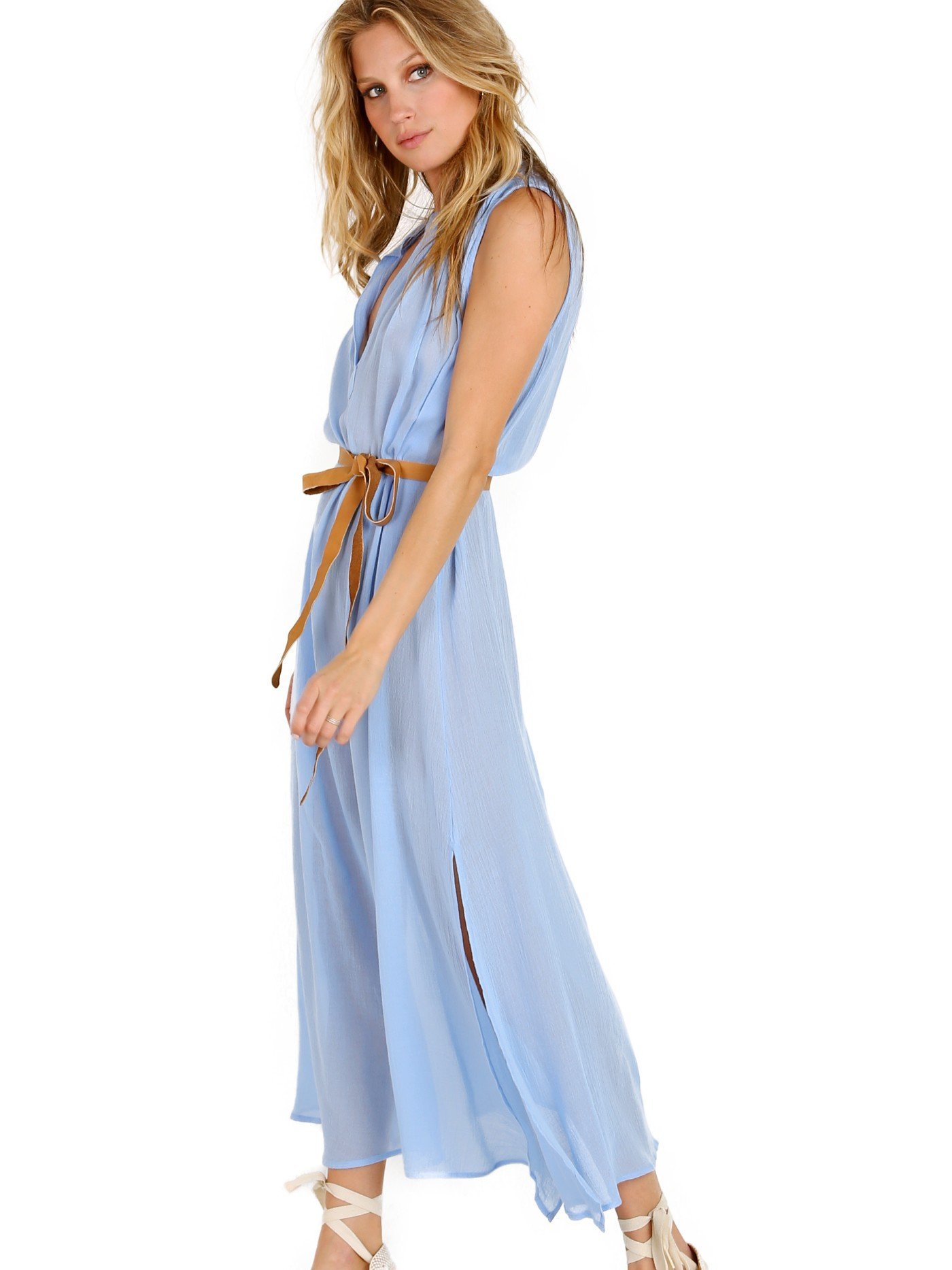 Eberjey Summer Of Love Russel Dress Chambray