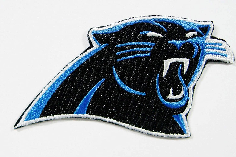 new style ead41 24122 Amazon.com: NFL North Carolina Panthers Embroidered Logo ...
