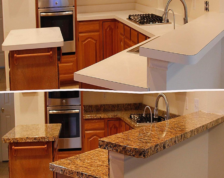 Granito encimera granito de oro: Look Peel y Stick oro veneciano granito contador. Pet/PVC 10