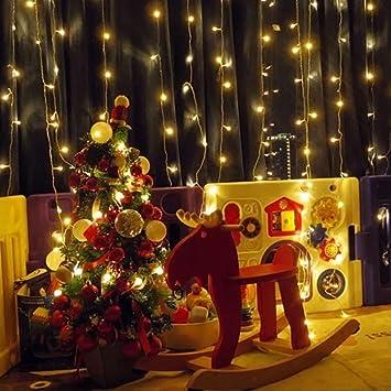 LED Vorhang Licht Hochzeit Urlaub Party Geburtstag Valentinstag Dekoration  Licht Strings Weihnachtsbeleuchtung String Schlafzimmer Garten Dekoration