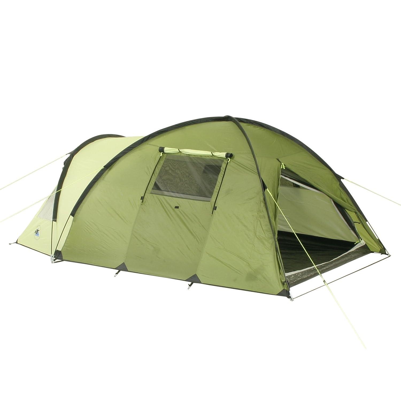10T Zelt Glenhill Lime 3 Mann Kuppelzelt FULL-XXL Schlafkabine wasserdichtes 5000mm Campingzelt