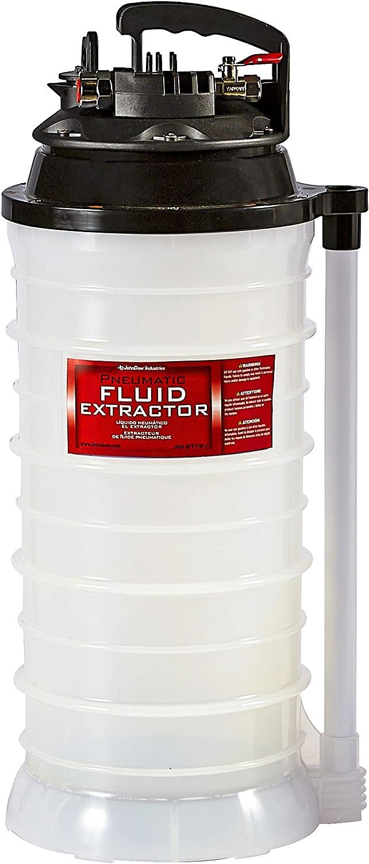 JohnDow Industries 2.7 Gallon JDI-277EV Pneumatic Air Operated Fluid Evacuator/Extractor