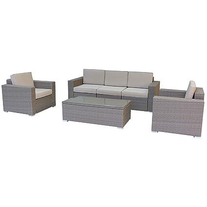 Fine Amazon Com Luxury Living Furniture 6 Piece Multy Tan Bralicious Painted Fabric Chair Ideas Braliciousco