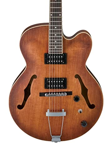 Ibanez Artcore AF55 Hollow-Body Electric Guitar Tobacco Flat