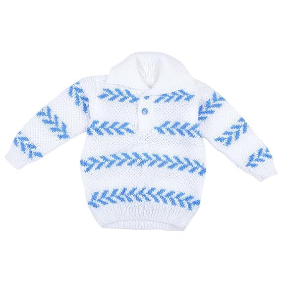 be48f522b Kuchipoo Unisex Hand Knitted Woollen Clothing Set (KUC-SUT-614 Blue ...
