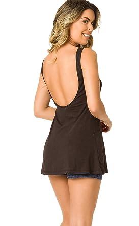 8d2c456bb42 COQUETA Swimwear Casual Women s Sleeveless Open Back Tank T-Shirt Swing  Dress Black. Roll over image to zoom in. THE MESH KING