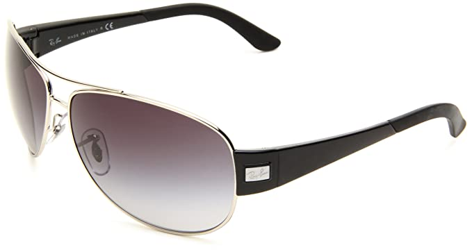af64bc6c03 Ray-Ban Sunglasses (RB 3467 003 8G 63)  Amazon.co.uk  Clothing