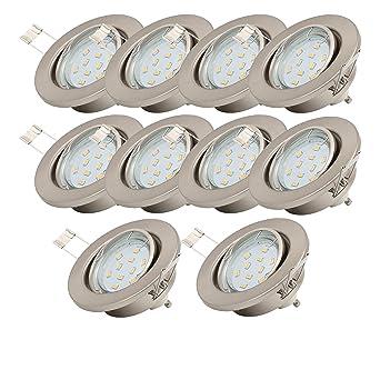 Spot LED encastrable orientable avec 10 x 3 W Ampoule 230 V GU10 LED Spot de 2560ef813ca8