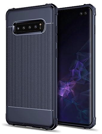 Amazon.com: Funda protectora de gota para Galaxy S10 Plus de ...