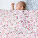 Kassy Pop Fleece Multipurpose Blanket Wrapping Sheets Swaddles for New Born to 1.5 Years, Unisex, Excellent Baby Shower Gift