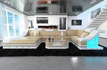 Sofa Dreams Moderno Cuero Conjunto de Muebles para Salón ...