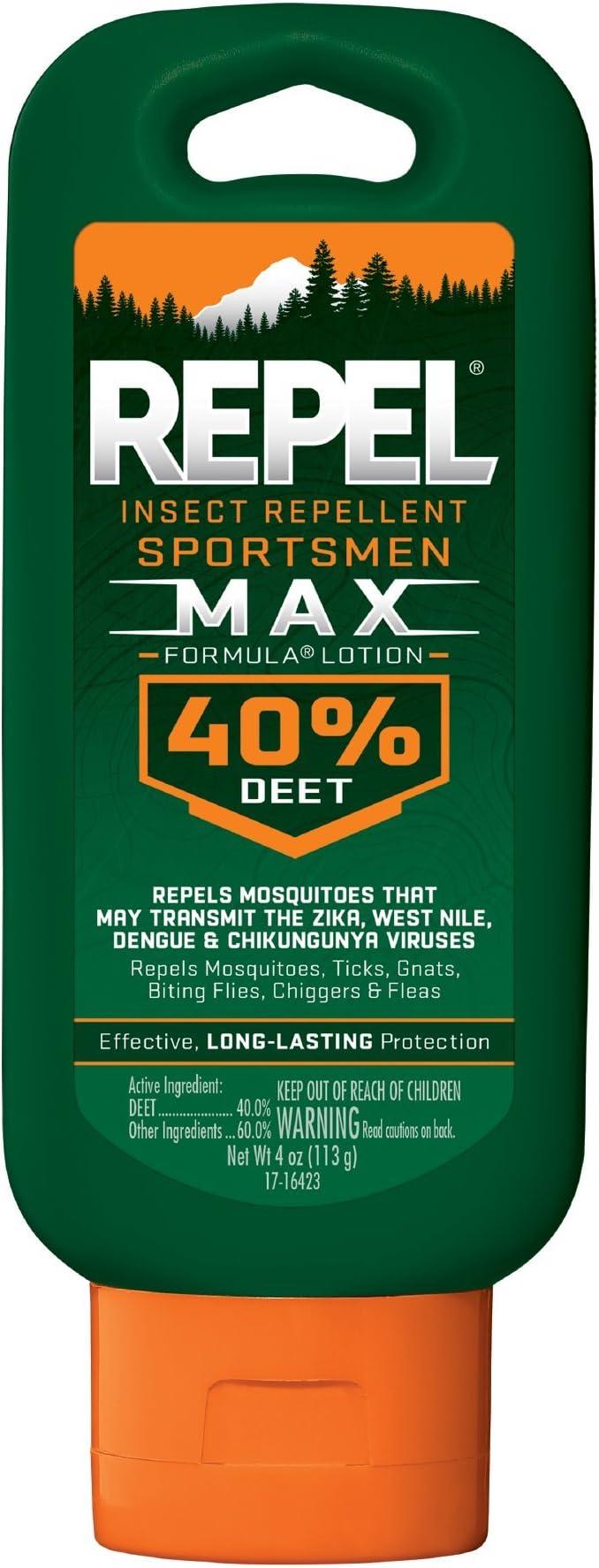 Amazon Com Repel Insect Repellent Sportsmen Max Formula Lotion
