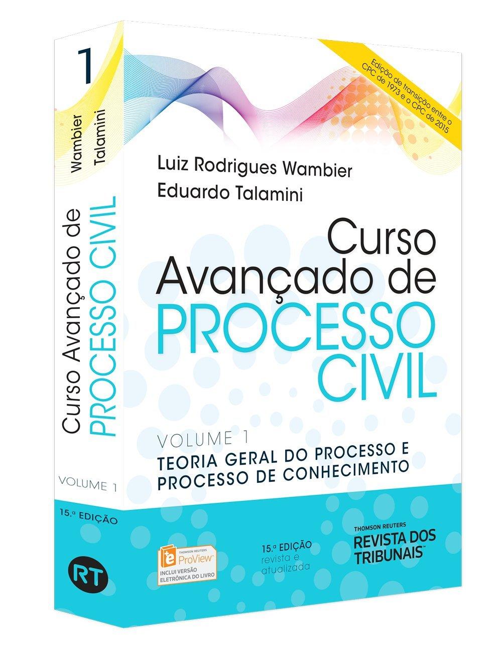Read Online Curso Avançado de Processo Civil. Teoria Geral do Processo e Processo de Conhecimento - Volume 1 PDF