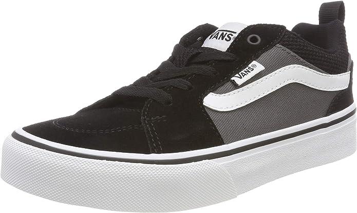Vans Filmore Sneakers Mädchen Jungen Kinder Schwarz/Grau (Pewter/Zinn)