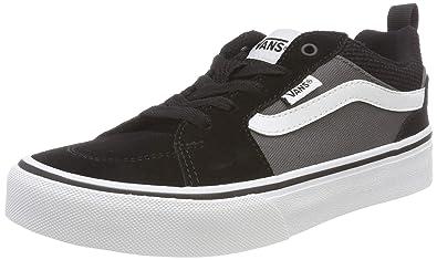 225cc6fad2334a Vans Boys  Filmore Suede Canvas Low-Top Sneakers