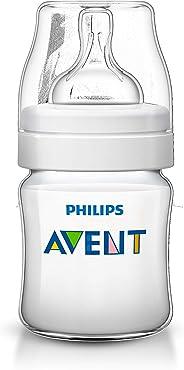 Mamadeira 125 ml Clássica,  Philips Avent, Transparente