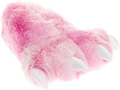 1891ced5b5e7 Image Unavailable. Image not available for. Color  Wishpets Grizzly Bear  Paw Slippers ...