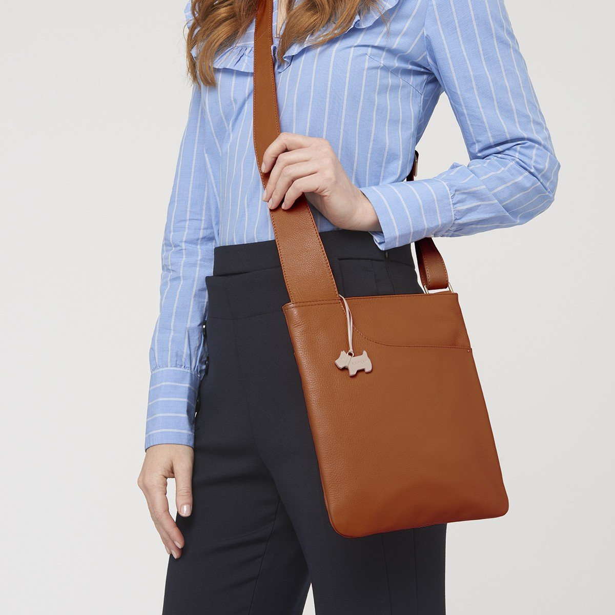 b444ad8fa5 Radley Handbag Pocket Bag. Medium Cross Body Bag 90102 Brown  Amazon.co.uk   Shoes   Bags