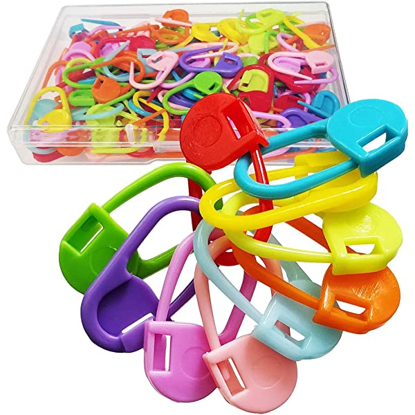 stitch counters pack 24 knitting notions knitting accessories stitch markers four colours