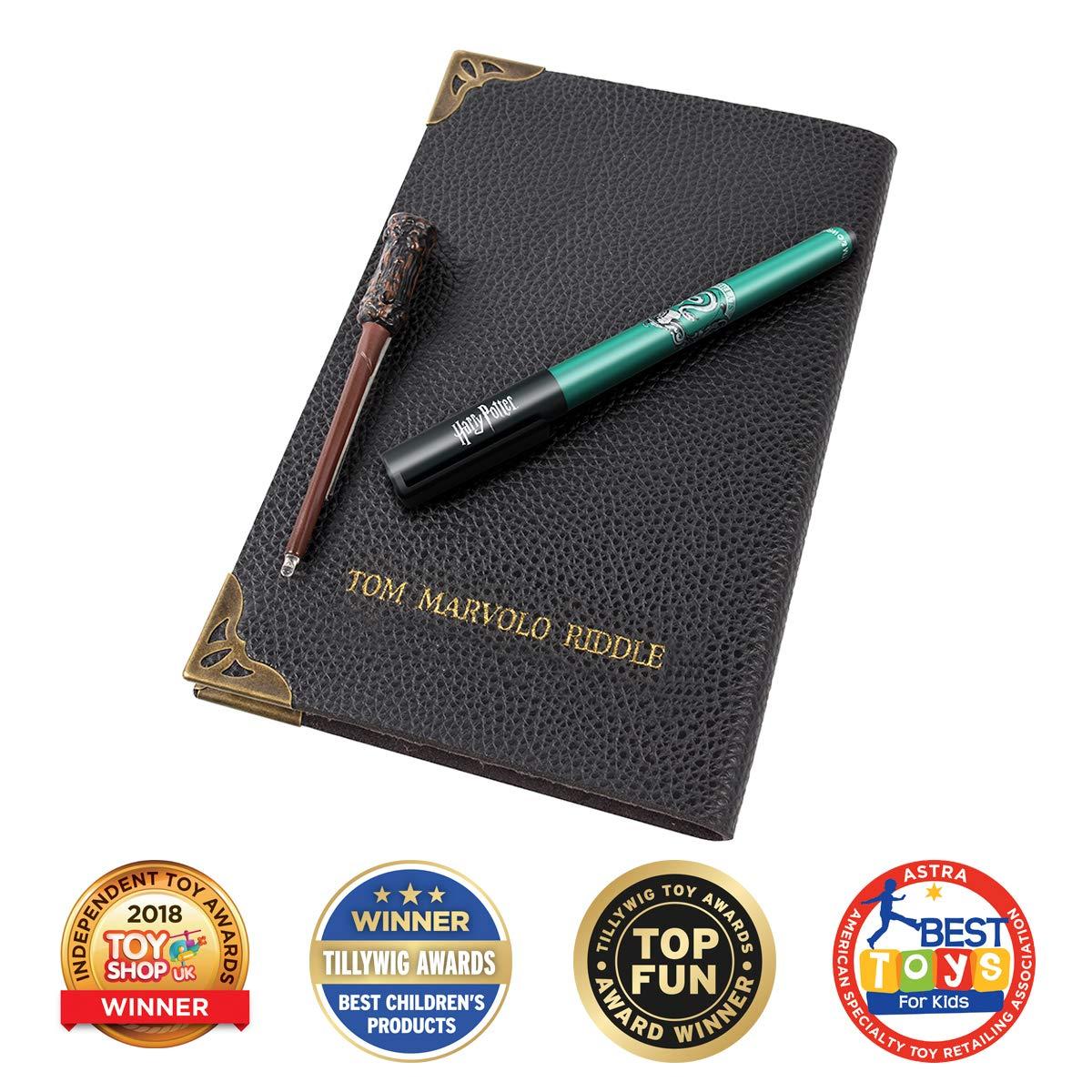 Wow! Stuff Collection Harry Potter Tom Riddle - Cuaderno de Agenda (Incluye lápiz para Pantalla táctil y Varita UV)
