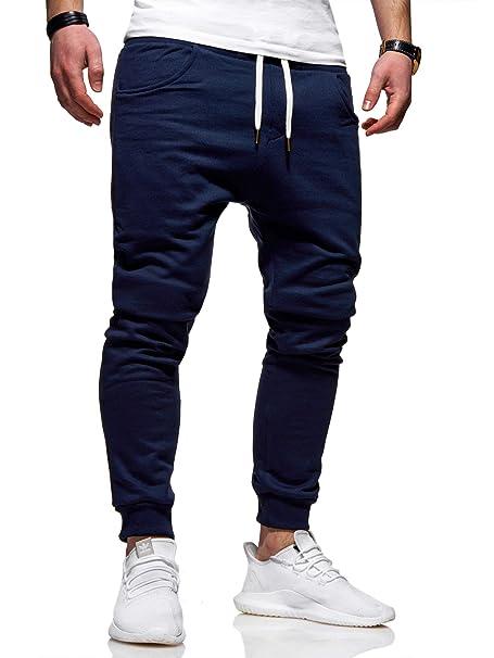 behype. Basic 60-0341 - Pantalones Largos de chándal para Hombre ...