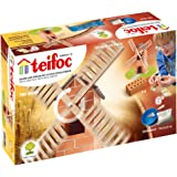 Teifoc - Tei4040 - Jeu De Construction - Moulin À Vent