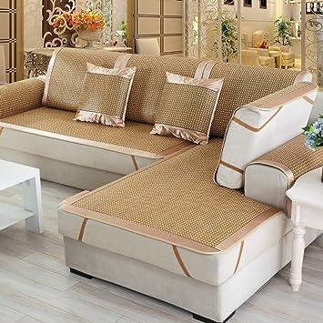 Amazon.de: TT&CC Rattan Sofa Handtuch, Sommer mat chaiselongue ...