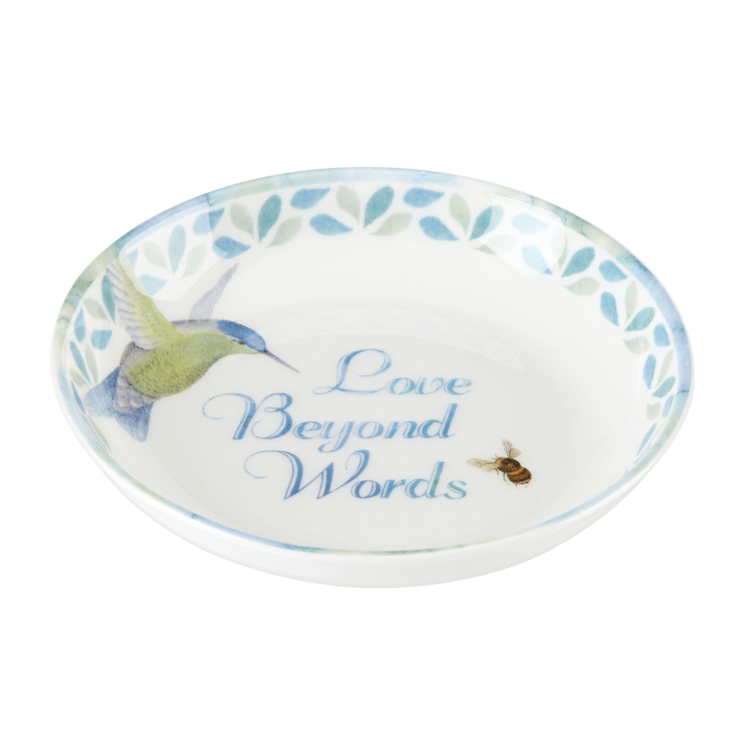 "Lenox Butterfly Meadow ""Love Beyond Words"" Dish Love Beyond Words 2"