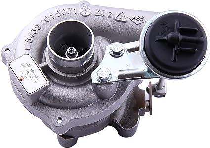 maXpeedingrods Universal Turbo para T3 T4 T03 T04 t04e T3 brida V-Band refrigerado por aceite Turbocompresor (ggtt3): Amazon.es: Coche y moto
