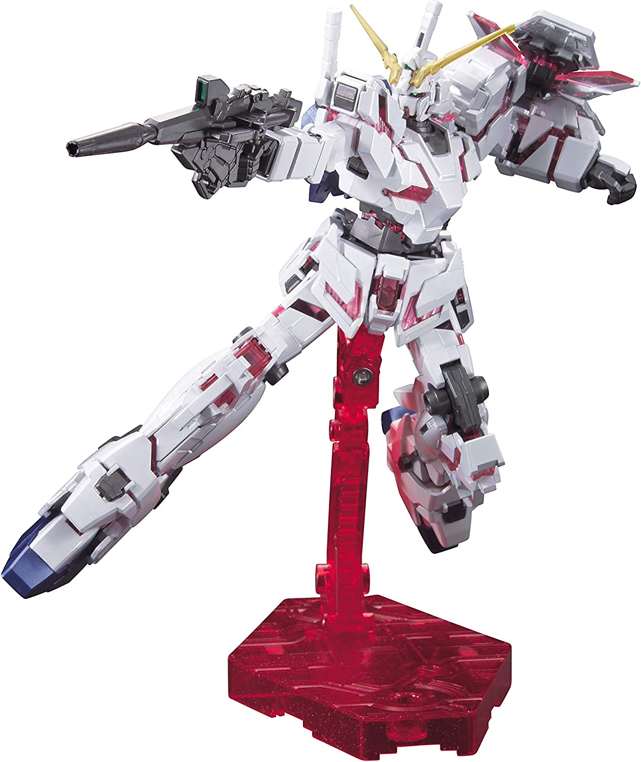 BANDAI HGUC Mobile Suit Gundam Unicorn Gundam DESTROY MODE 1//144 Plastic Model