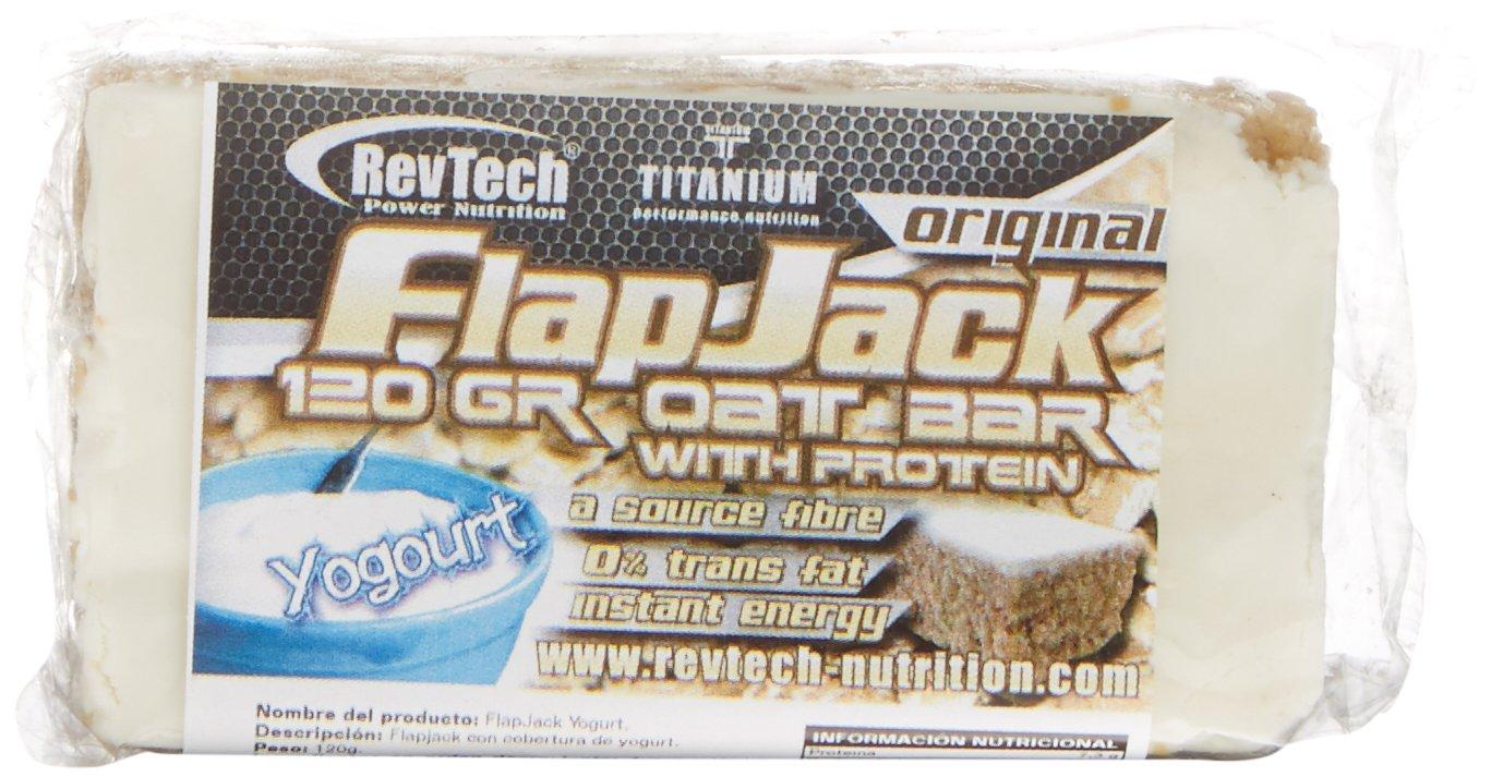 Revtech Flapjack - Suplemento para deportistas, sabor a yogurt , 24 barras: Amazon.es: Salud y cuidado personal