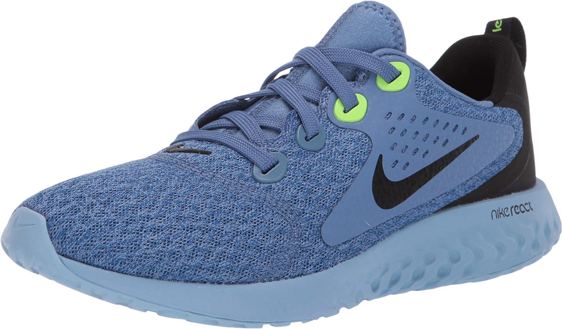 Nike Kids' Grade School Legend React Running Shoes (4.5, Indigo Storm)