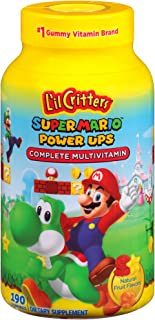 product image for L'il Critters Super Mario Brothers Complete Multivitamin Gummies, 190 Count