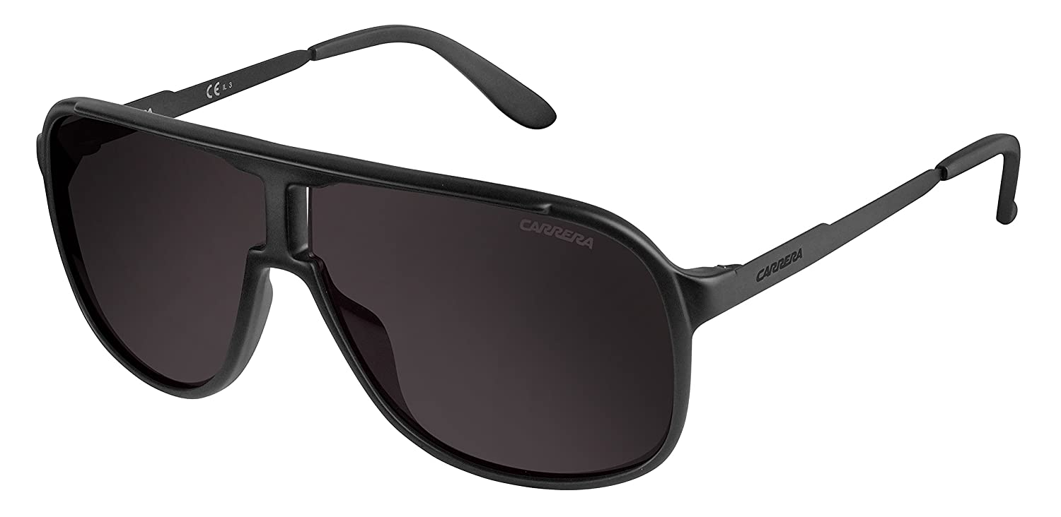 94122d354bd2 Amazon.com: Carrera Men's New Safaris Aviator, Blue & Blue Sky Mirror, 62  mm: Clothing