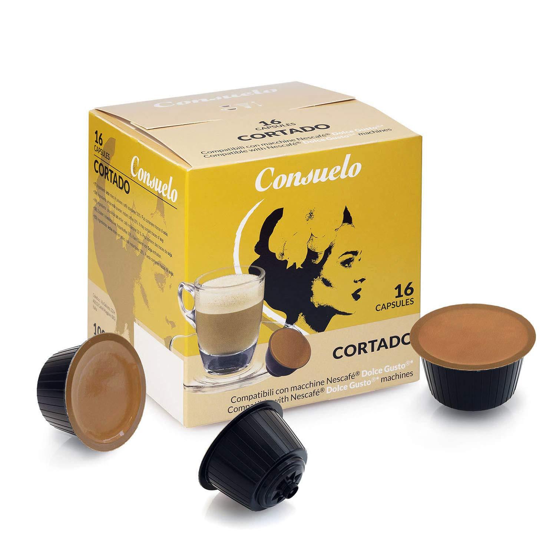 Cápsulas Consuelo compatibles con Dolce Gusto* - 96 cápsulas (16x6 ...