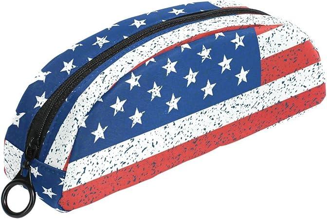 COOSUN - Estuche de lapiceros con bandera de Estados Unidos para el día de la independencia 4 de julio: Amazon.es: Oficina y papelería