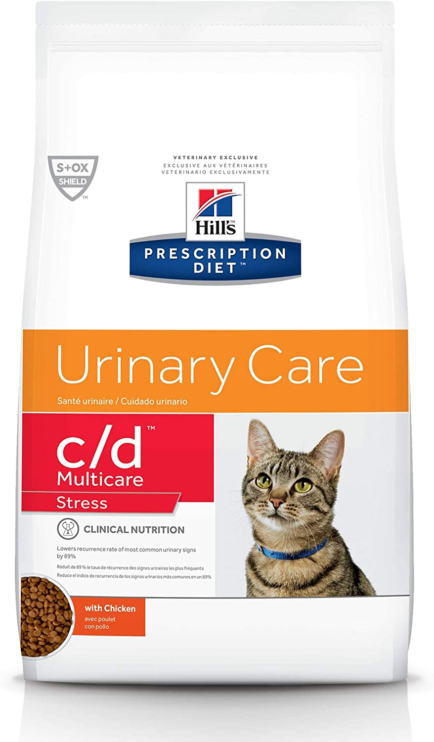 Hill's Prescription Diet c/d Multicare Stress Urinary Care Cat Food