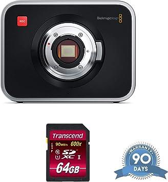Amazon Com Blackmagic Design Cinema Camera Mft Mount With Memory Card Renewed Electronics