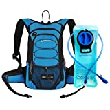 Amazon Price History for:Miracol Hydration Backpack with 2L Water Bladder - Thermal Insulation Pack Keeps Liquid Cool up to 4 Hours – Multiple Storage Compartment– Best Outdoor Gear for Skiing, Running, Hiking, Cycling