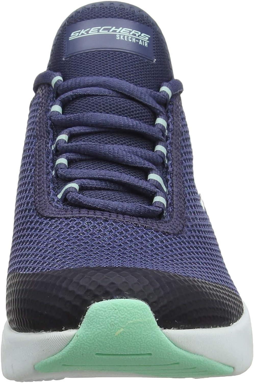 Skechers Damen Skech air Stratus Sparkling W Sneaker, Black I2YXK