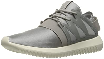 online store 9f654 be6d4 adidas Women s Tubular Viral W Running Shoe, Metallic Silver-SLD Clear  Granite
