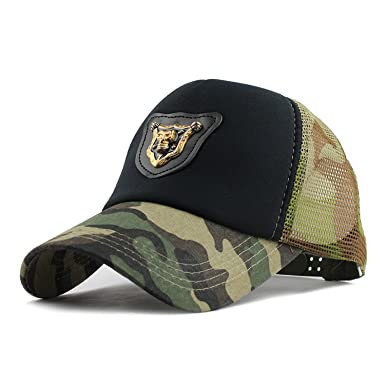 ANDERDM Casual Skull Baseball Cap Dad Hat Trucker mesh Cap Sports Beach  Summer Fashion Hats for Women Men hat Camouflage at Amazon Women s Clothing  store  4429d6bfeced