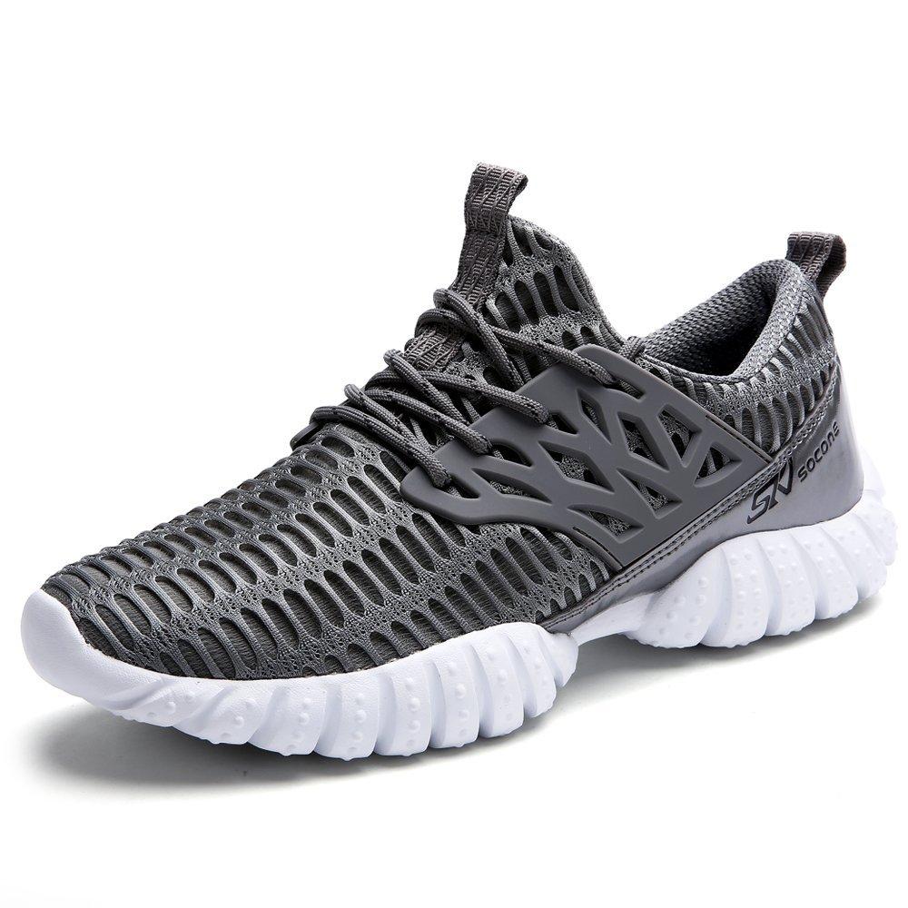ALEADER Men's Cross Trainer Shoes Lightweight Sport Walking Sneakers B07B2QTNQM 11 D(M) US|Gray