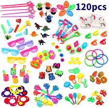 6 Kids Party Loot Bag Filler Favour Toys Birthday Wedding Prizes Bubbles