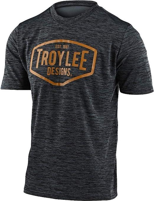 Troy Lee Designs 2020 Flowline MTB Jersey Heather Green//Tangerine All Sizes